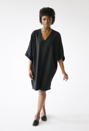 HDH Basics: V-Neck Dress