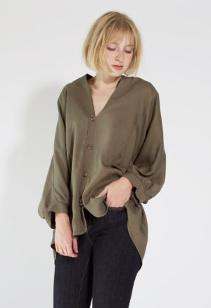 Swing Button-Up Tunic