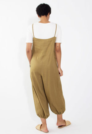 Button-Up Balloon Pant Jumper