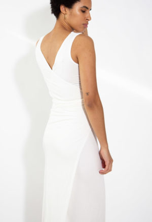 HDH Basics: Sleeveless Wrap Dress (Discontinued Style)