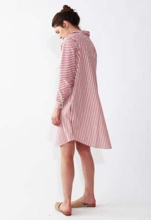 Pearl Button-Up Tunic