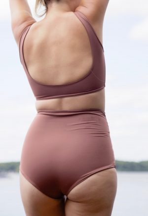 Twist High-Waisted Bottoms