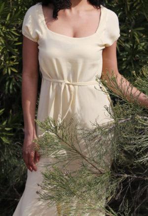 Square Neck Midi Dress