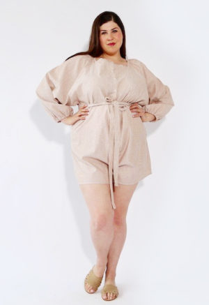 Sustain: Long Sleeve Romper, +1/2