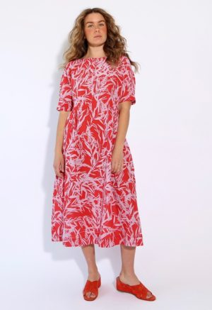 Red Lilac Print