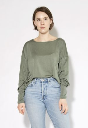 Sustain: Basics Reversible Long Sleeve Top, S