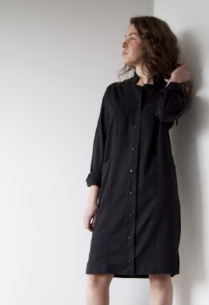 Sustain: Ruby Button-Up, M/L