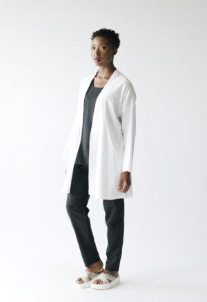 Sustain: Basics White Jacket, XL
