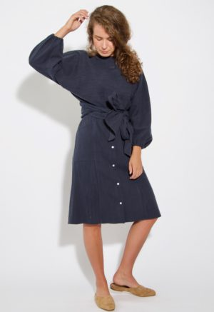 Sustain: Button Up Skirt, M