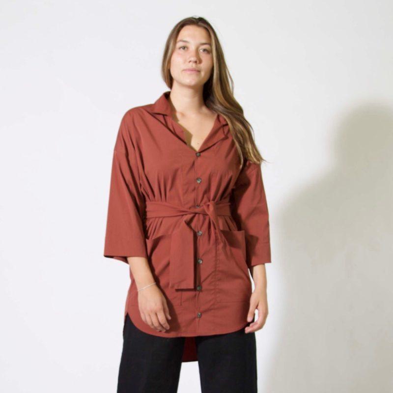 Sustain: Button-Up Lapel Jacket